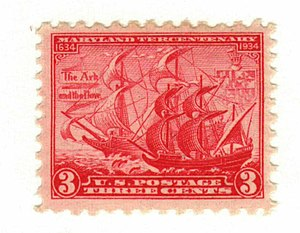 Maryland Day - The Ark and the Dove, 1934 Issue