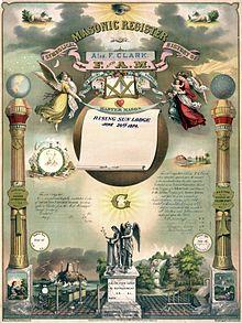 Член масонской организации