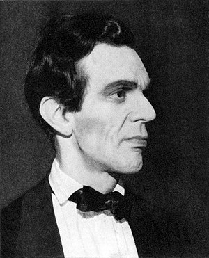 Raymond Massey - Raymond Massey in the Broadway production of Abe Lincoln in Illinois (1938)
