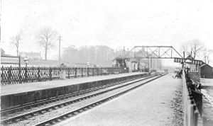 Little Massingham - Image: Massingham Station T Jdr