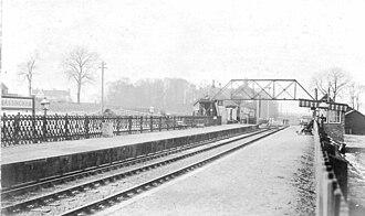 Little Massingham - Image: Massingham Station T Jdr