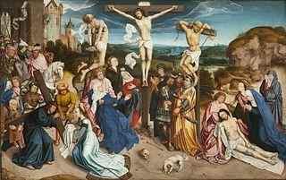 Le Portement de la Croix, le Calvaire et la Dépo-
