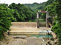Matsuya hydroelectric power station weir.jpg