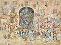 Maurice Prendergast - Riva degli Schiavoni, Castello (Venecia).jpg