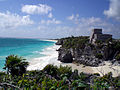 Mayan ruins at Tulum Mexico.jpg