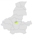 Maymana district location in map of Faryab province.png