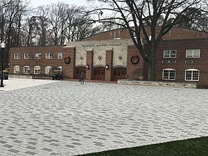 McDonough Gymnasium - Image: Mc Donough Gymnasium Exterior