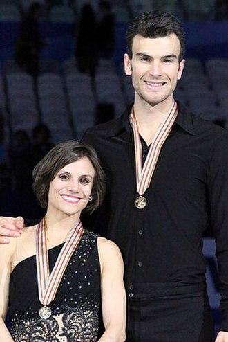 Meagan Duhamel - Duhamel and Radford in 2015
