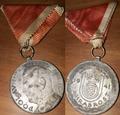 Medaille des Oberhaupts Ante Pavelić für Tapferkeit.png