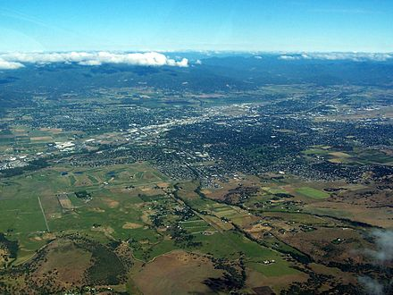 An aerial image of Medford Medford Oregon.jpg