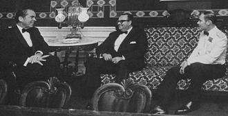Nicaragua - Anastasio Somoza Debayle (center) with Richard Nixon, 1971