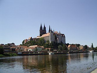 Margravate of Meissen - Meissen, with Albrechtsburg and Cathedral
