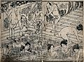 Men and women in a communal Japanese bath house Wellcome V0046647.jpg