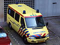 Mercedes Ambulance at Amsterdam, AMC hospital.JPG