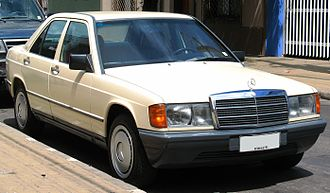 Mercedes-Benz W201 - Mercedes 190 D (Chile)