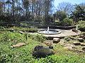 Mercer Arboretum, 2012, fountain.JPG