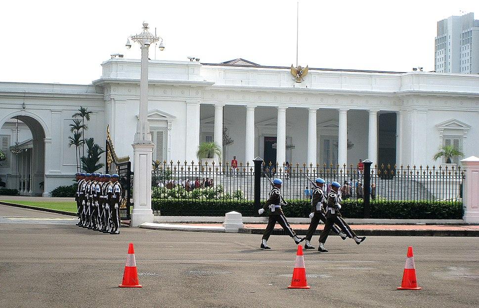 Merdeka Palace Changing Guard 2