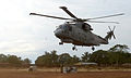Merlin Helicopter Delivering Food Aid to Sierra Leone MOD 45158258.jpg