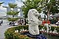 Merlion Statue at Merlion Park, Singapore (Ank Kumar ) 03.jpg