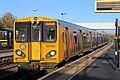 Merseyrail Class 507, 507015, Aintree railway station (geograph 3786860).jpg