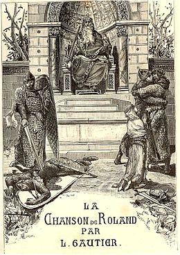 la Chanson de Roland  dans CHANSON FRANCAISE 260px-Merson_Gautier_Chanson_de_Roland