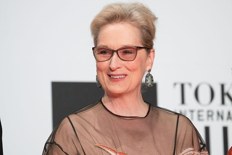 """File:Meryl Streep from """"Florence Foster Jenkins"""" at Opening Ceremony of the Tokyo International Film Festival 2016 (33260889380).jpg"""