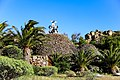 Metall-Skulptur an der Aussichtsplattform Mirador César Manrique im Tal Valle Gran Rey auf La Gomera, Spanien (48293762151).jpg