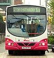 Metro (Belfast) bus 797 (UCZ 8797) 2003 Scania L94UB Wright Solar, 3 October 2009.jpg