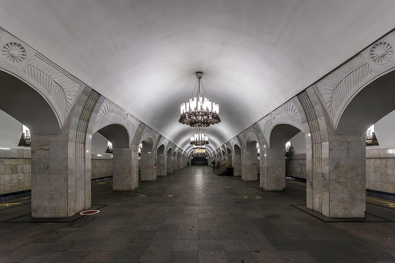 Станция метро Пушкинская в Москве