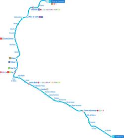 Mapa Del Metro De Madrid Linea 1.Linea 1 Metro De Madrid Wikipedia La Enciclopedia Libre