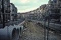 Metrobouw inrit Albertlaan in 1984.jpg