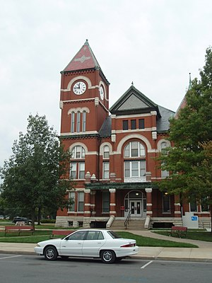 Paola, Kansas - Miami County Courthouse (2009)