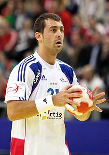 Michaël Guigou French handball player
