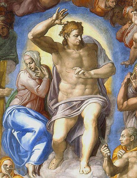 Ficheiro:Michelangelo - Cristo Juiz2.jpg