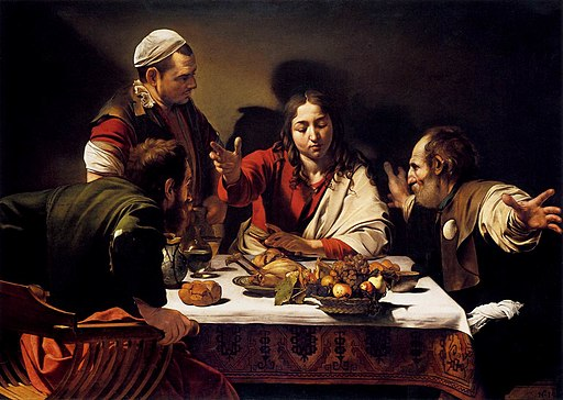 Michelangelo Merisi da Caravaggio - Supper at Emmaus - WGA04142