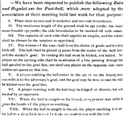 Michigan Football Rules and Regulations of 1873, part 1.png
