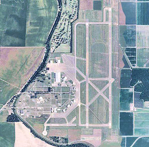 Greenville Air Force Base (Mississippi) - USGS Aerial photo of Greenville AFB, 2006