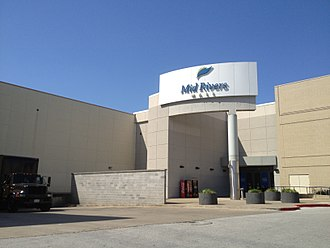 Mid Rivers Mall - Entrance to Mid Rivers Mall, May 2012
