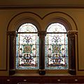 Middle Street Synagogue, Brighton (May 2013) - Stained Glass Windows on East Side (2).jpg