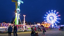 Midway Attractions at the Alaska State Fair in Palmer, AK.jpg