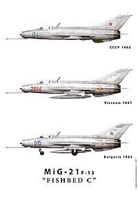List of Mikoyan-Gurevich MiG-21 variants - Wikipedia