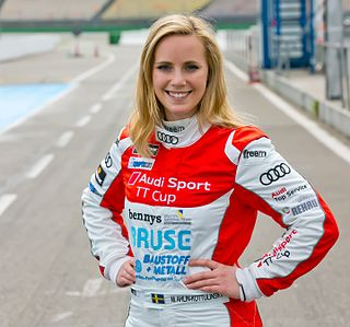 Mikaela Åhlin-Kottulinsky Swedish female racing driver