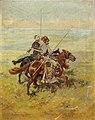 Mikolai Ivanovich Ivasiuk - Riders on the Steppe.jpg