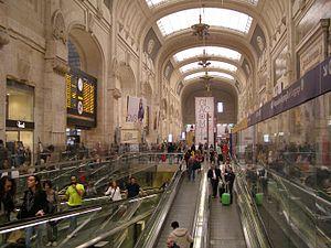 Milan Central railway station - Station façade