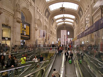 Milan Central railway station - Station façade