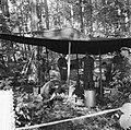 Militaire oefening Holt Fast in Duitsland. Bivak, Bestanddeelnr 905-3146.jpg