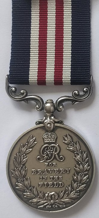 Military Medal - Image: Military Medal, George V version (Reverse)