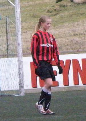 Milja Simonsen - Image: Milja Reinert Simonsen in 2012