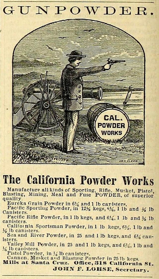 Mining and Scientific Press - 1868-08-22 - California Powder Works