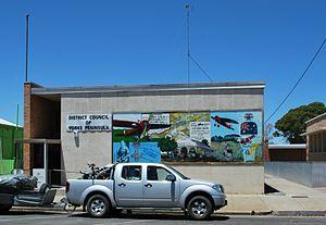 Yorke Peninsula Council - Council branch office at Minlaton